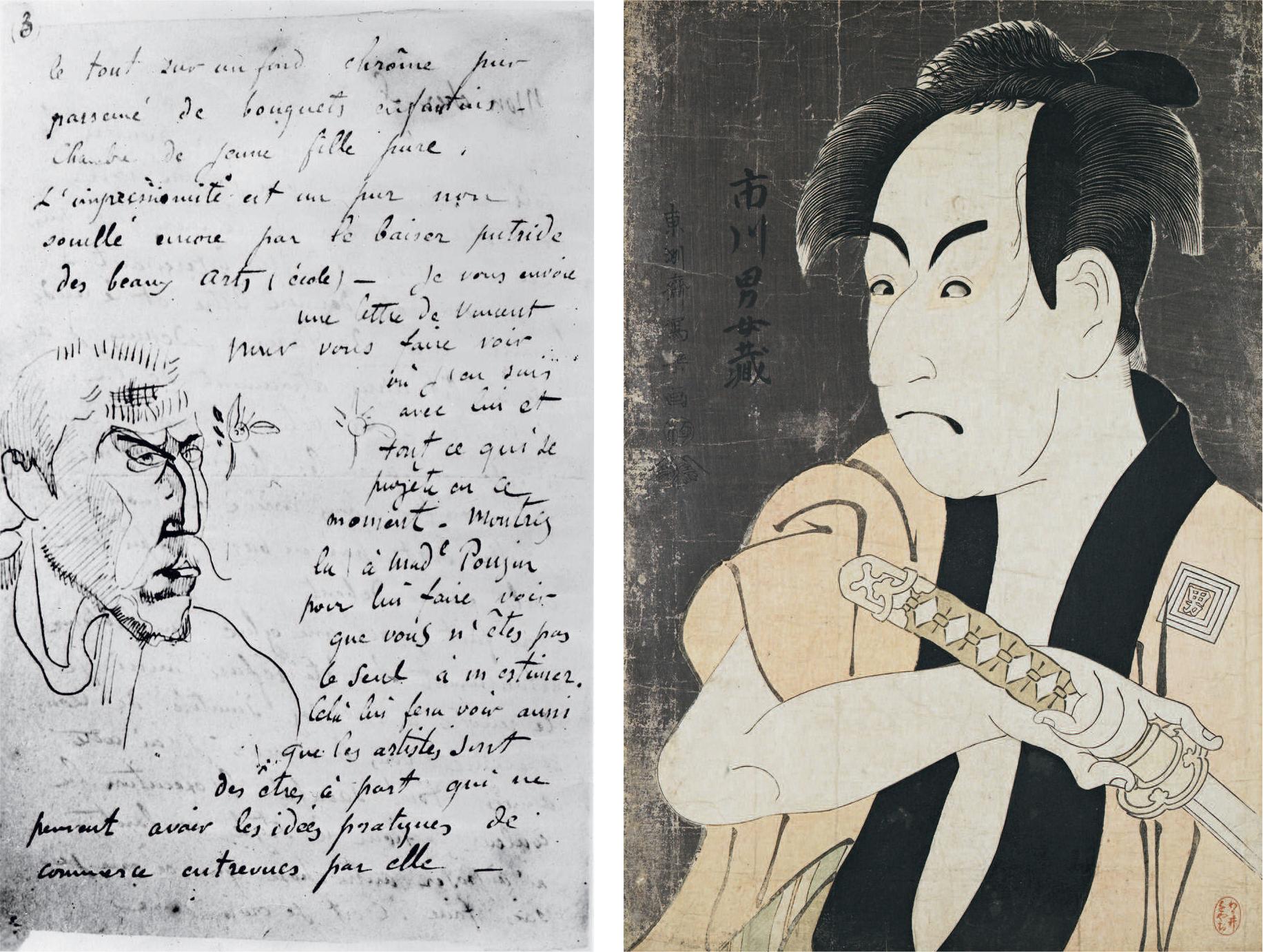 Gauguin, entre Japon et Bretagne