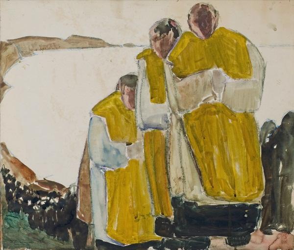 Paul-Auguste Masui, un peintre belge en Bretagne