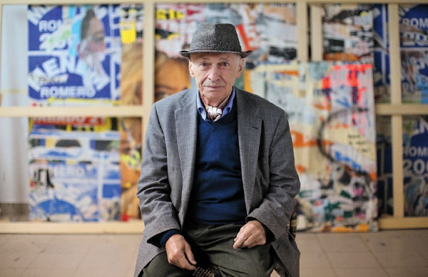 Jacques Villeglé, voleur d'images
