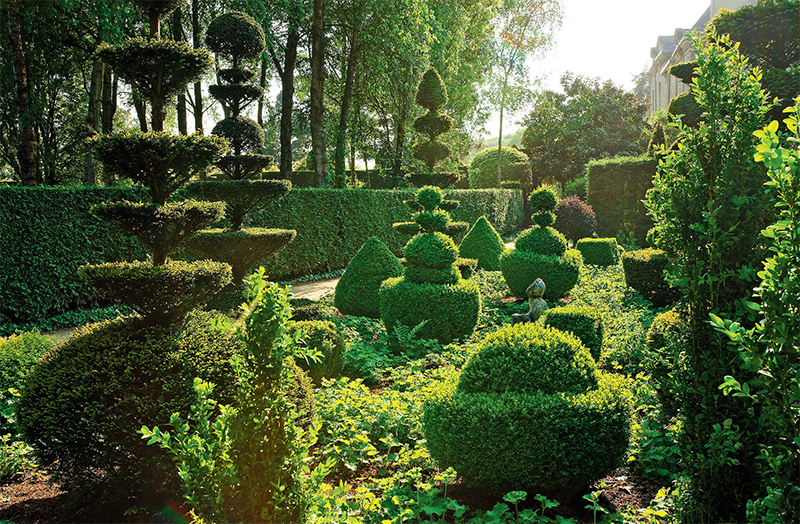 Un jardin aux couleurs du monde