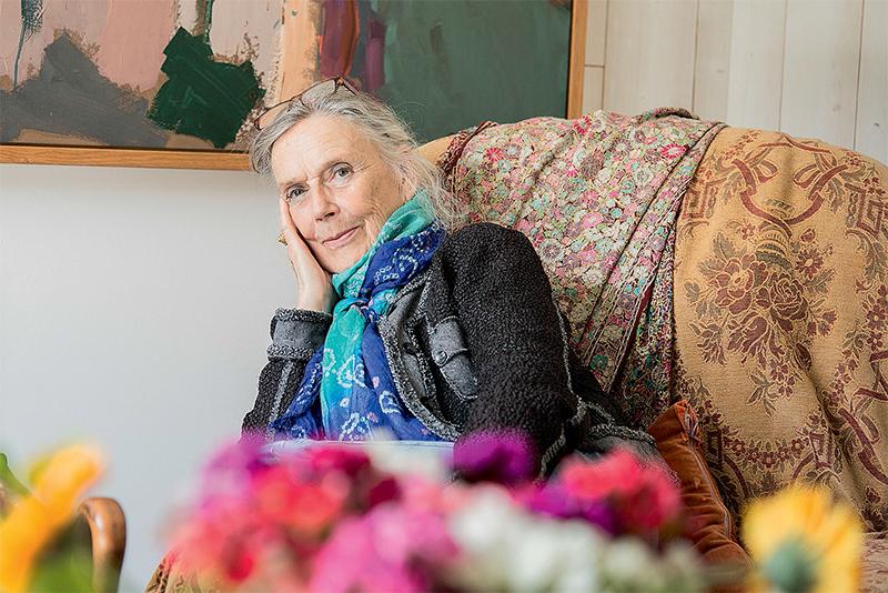 Françoise Grall contre l'herbe d'oubli
