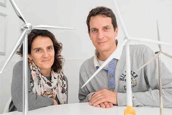 Nathalie Le Meur et Peter Nass, vive le vent !