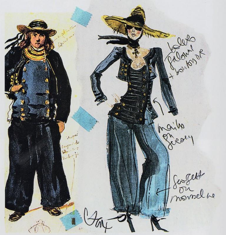 Le costume breton inspire la mode