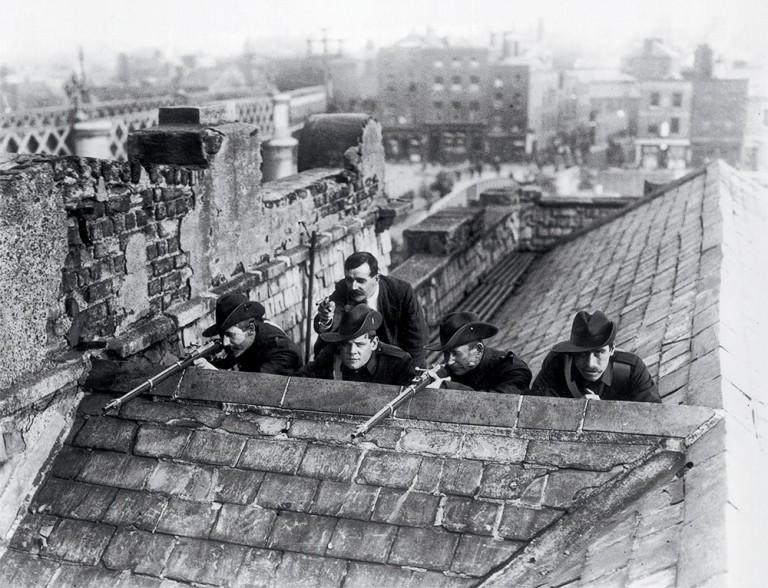 Les Bretons et l'insurrection irlandaise de 1916