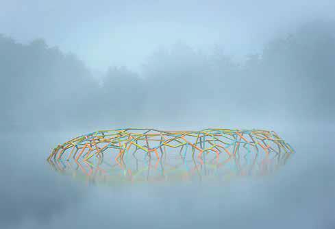 Brocéliande met de l'art dans ses étangs