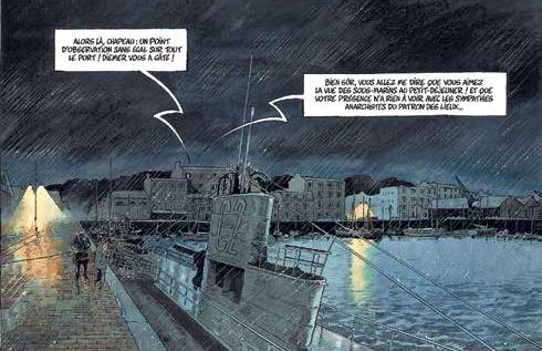 Kris et Galic récidivent : espions et sous-marin en rade