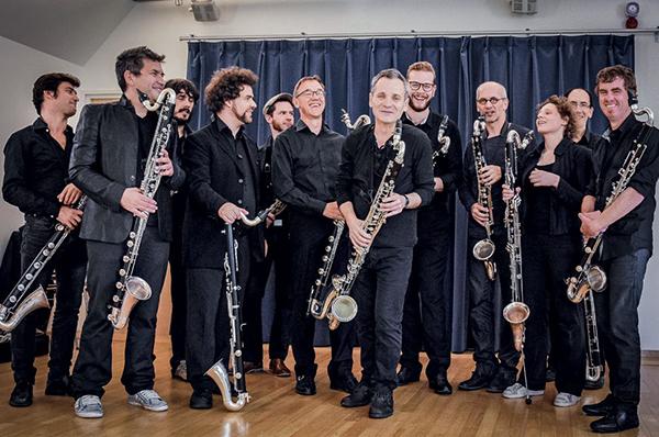 Les clarinettes basses en confrérie à Saint-Brieuc