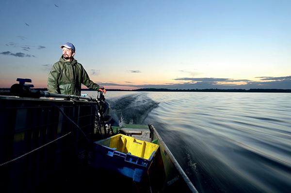 Les pêcheurs de Grand-Lieu
