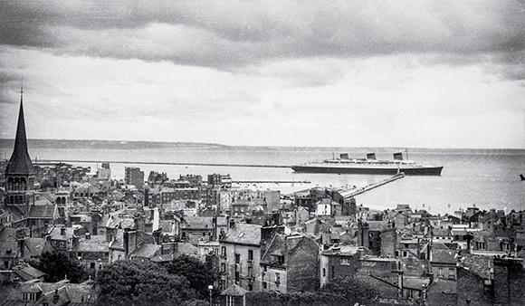 Marin sur le Normandie