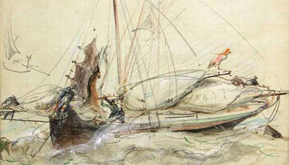 Louis-Marie Faudacq, peintre douanier en Trégor