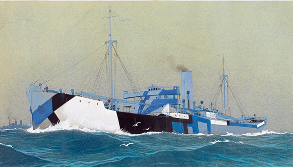 L'art contre-attaque au musée national de la Marine