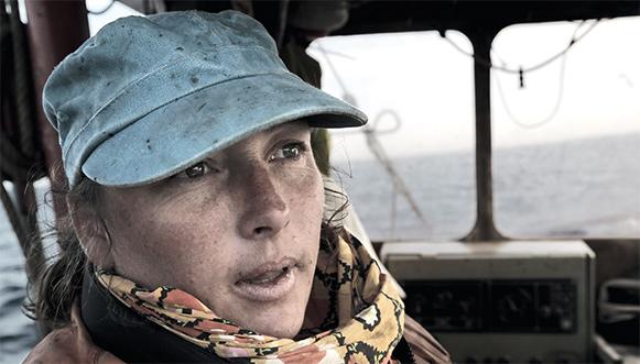 Femmes pêcheurs en Iroise