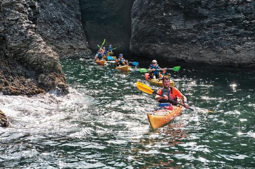 Belle-île-en-Mer en kayak