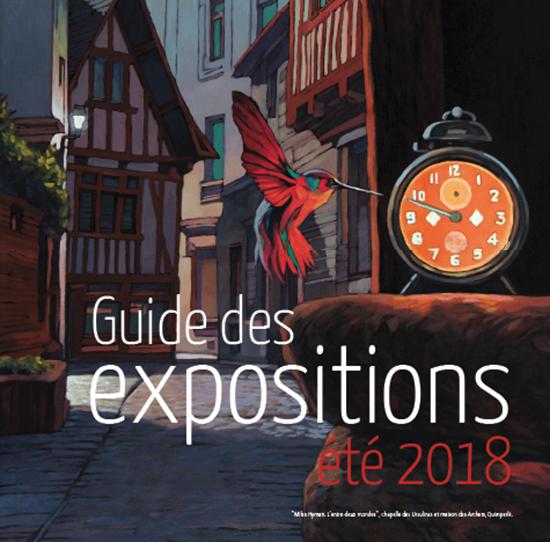 Guide des expositions de l'été 2018