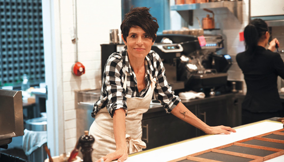 Dominique Crenn, l'émotion dans l'assiette