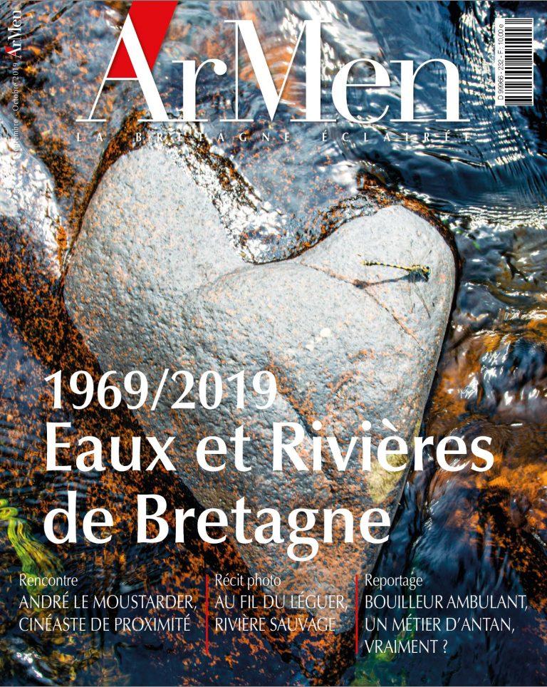 Couverture du numéro 232 - dossier Eaux et rivières de Bretagne