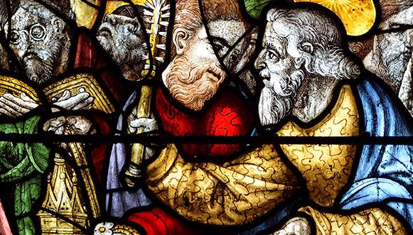 Sur les vitraux Renaissance en Bretagne Les lunettes, le goût du détail et des références savantes