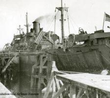 Liberty ships, Saint-Nazaire