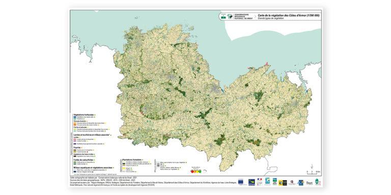 Conservatoire botanique national de Brest : vus du ciel, les paysages bretons racontent leur diversité