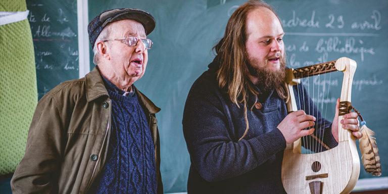 Archéo-musicologie et lutherie à l'atelier Skaldèt