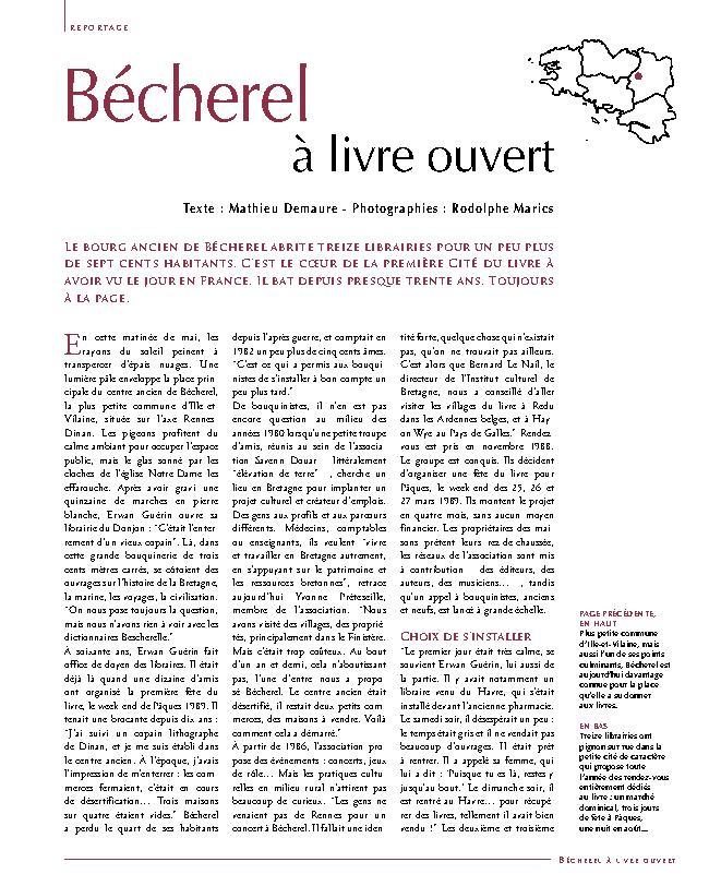 B cherel livre ouvert armen revue bretagne culture for Livre culture cannabis interieur pdf